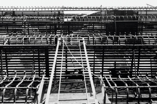 Photography: Vintage Photo: Fire Escape Horizontals, NYC 1988
