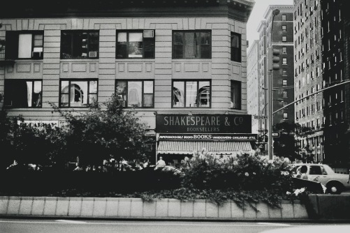 Photography: Vintage Photo: Shakespeare Bookstore Directly across from Gryphon