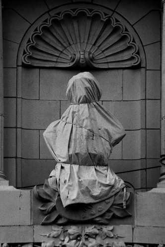 Photography: Vintage Photo: Draped Bust, NYC 1988