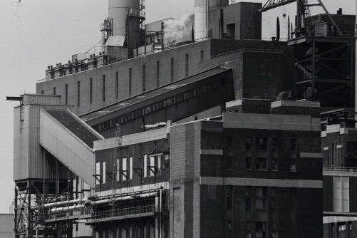 Photography: Vintage Photo: ConEd Plant, NYC as seen from the East River 1988