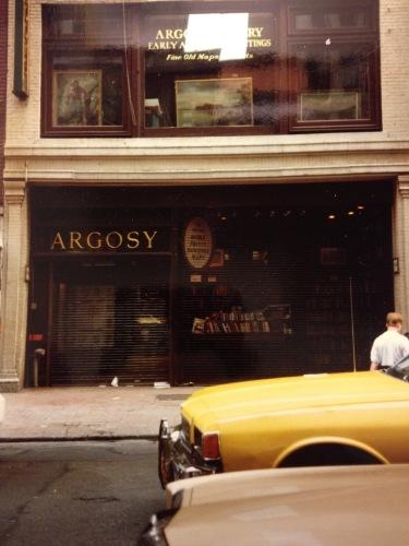 Photography: Vintage Photo: Argosy Book Store, NYC circa 1988