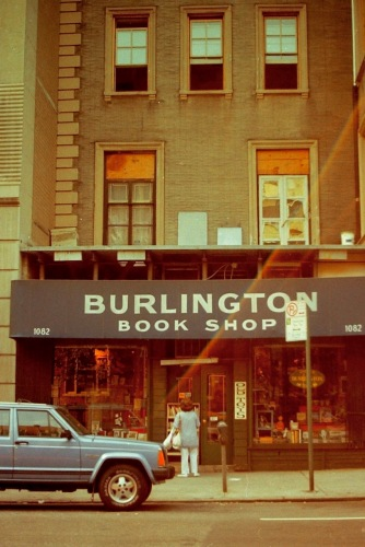 Photography: Vintage Photo: Burlington Book Store, NYC 1989
