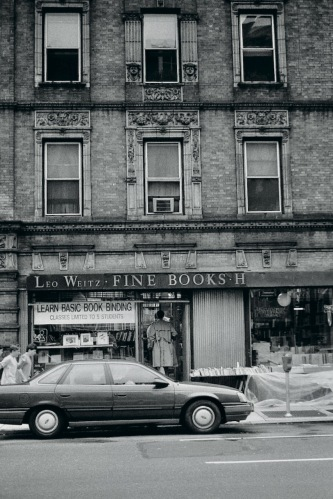 Photography: Vintage Photo: Leo Weitz Fine Books, NYC 1988