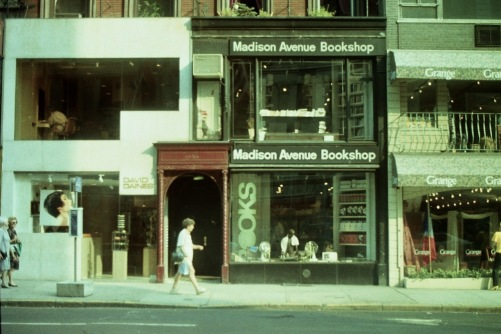 Photography: Vintage Photo: Madison Avenue Bookshop, NYC 1989