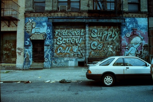 Photography: Vintage Photo: Federal Supply Scree Company Graffiti, NYC, June 1989