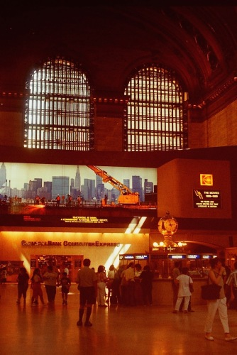 Photography: Vintage Photo: Grand Central Station, NY, NY July 1989