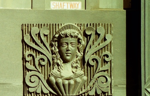 Photography: Vintage Photo: Architectural Detail, Lower Manhattan, NY, May 1989