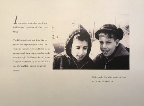 My Brother Michael: Growing Up - I could not talk about anything...