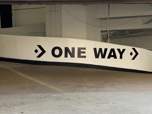 Photography: Street Photography: One Way, LA