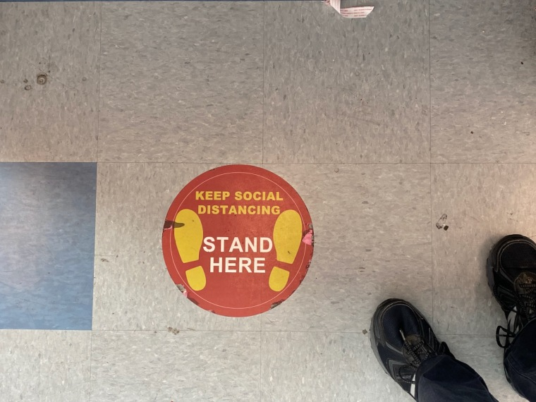 Photography: Social Distancing Series: Stand Here