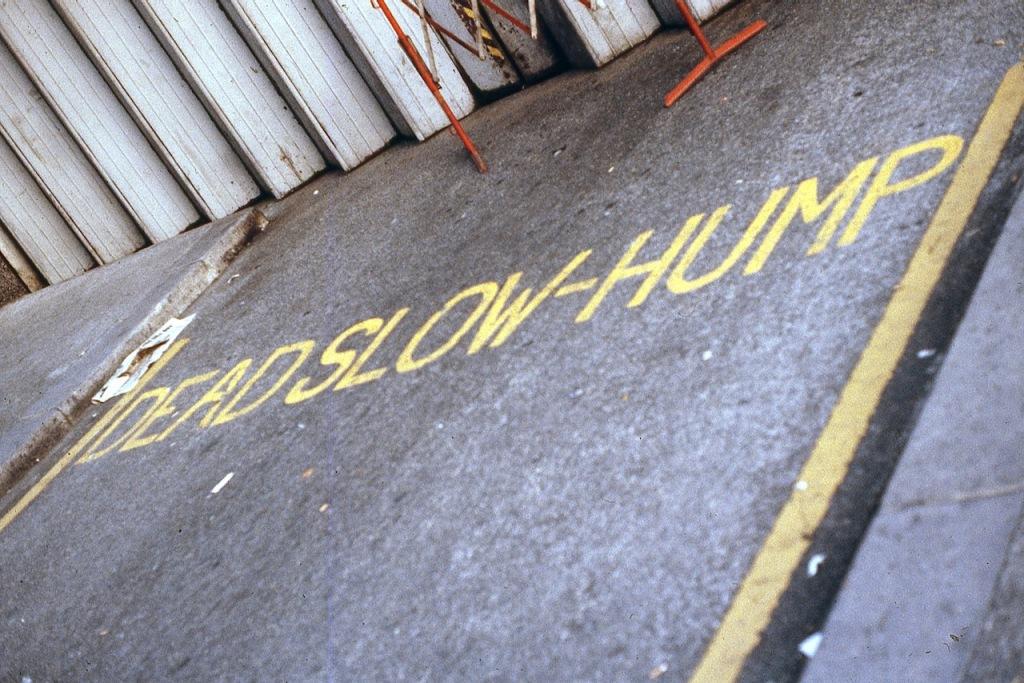 Photography: Dead Slow Hump, London, circa 1980