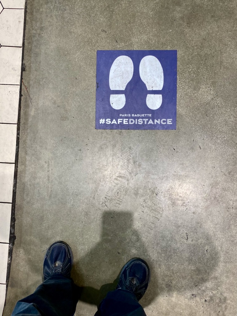 Photography: Social Distance Series: #SafeDistance Sign