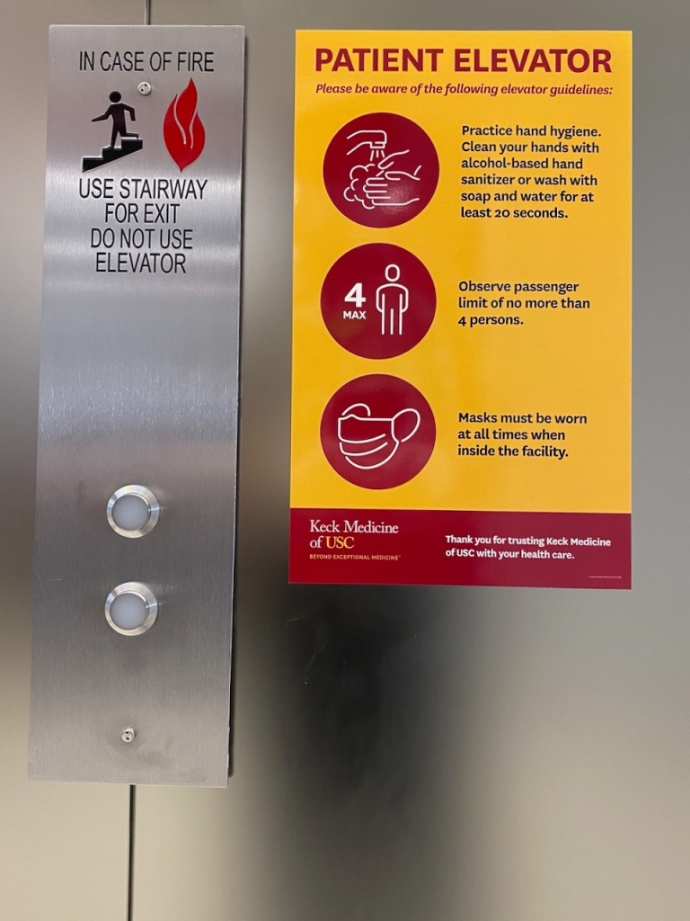 Social Distancing Series: Patient Elevator Instructions