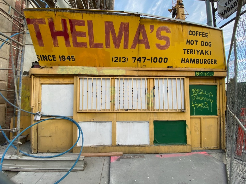 Street Photography: Thelma's (from The Mating Season)