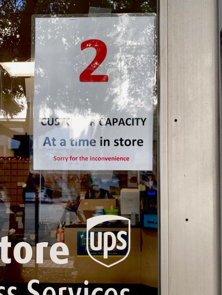 Photography: Social Distancing Series: Small Box Store - Capacity 2