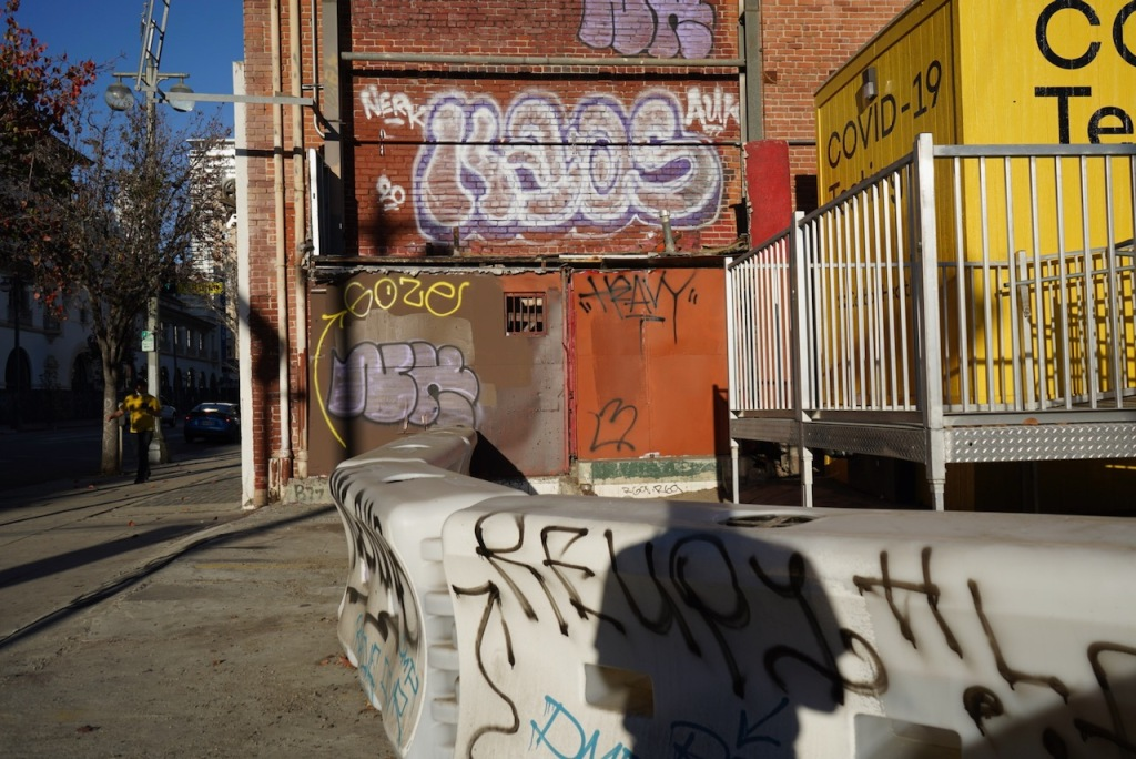 Photography: Street Photography: Graffiti in the Time of COVID