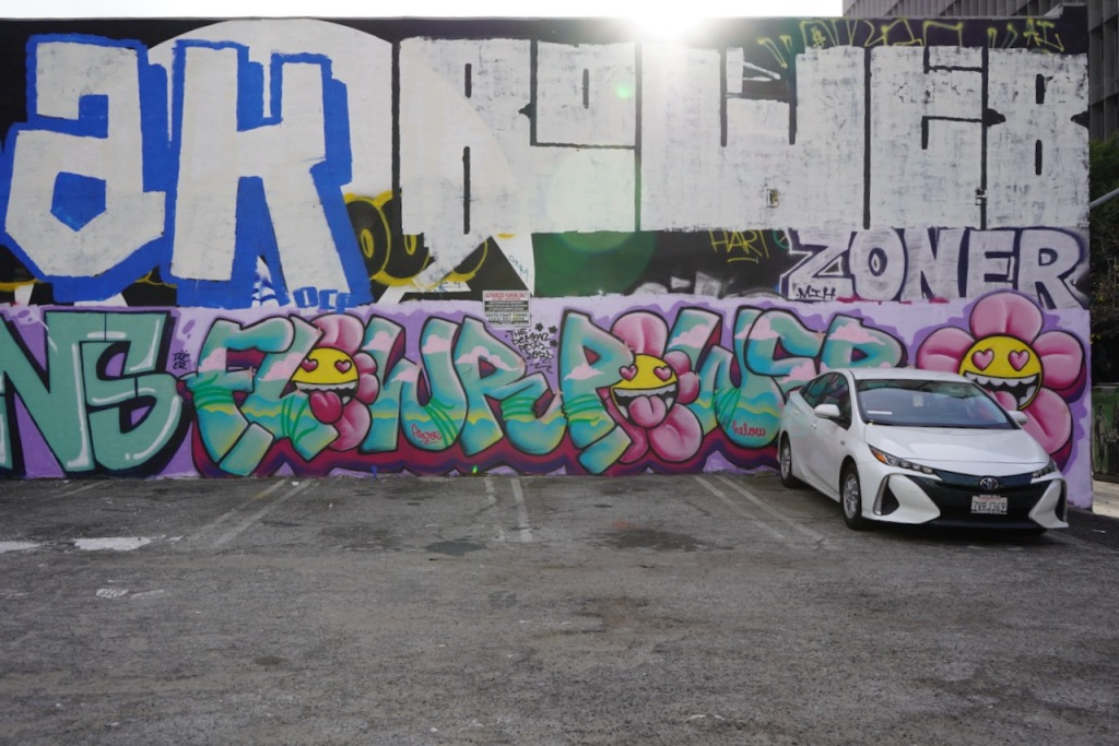 Street Photography: LA Graffiti Interrupted