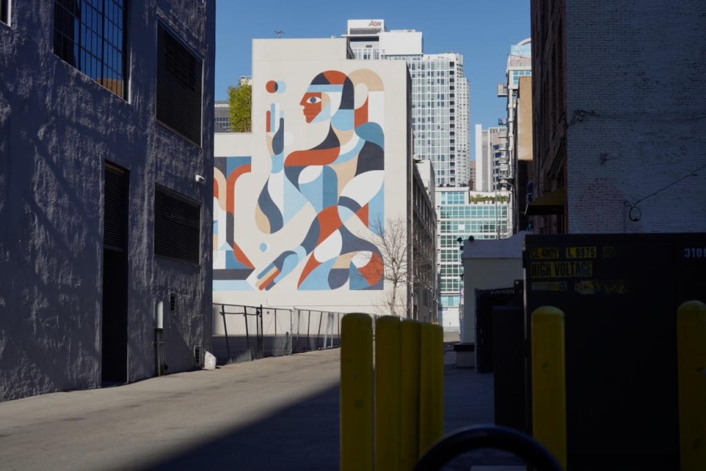 Street Photography: Mural Down the Alley