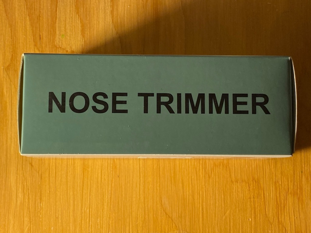 Photography: Nose Trimmer
