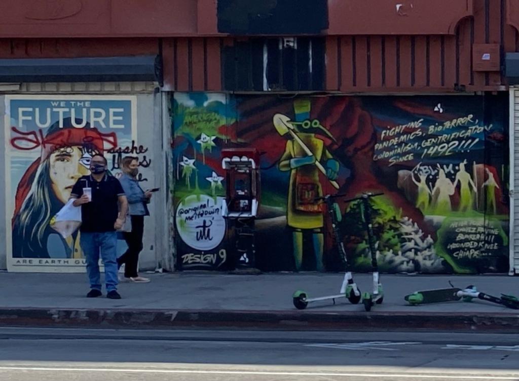 Street Photography: Graffiti - Fighting Pandemics Since 1492