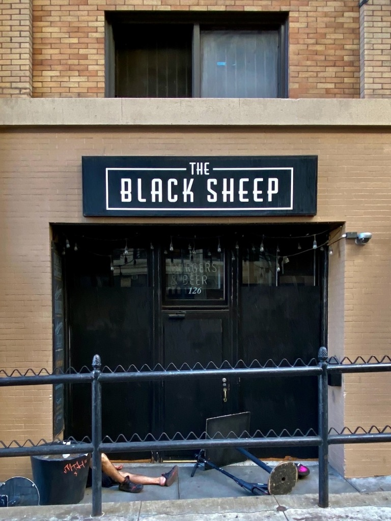 Street Photography: The Black Sheep