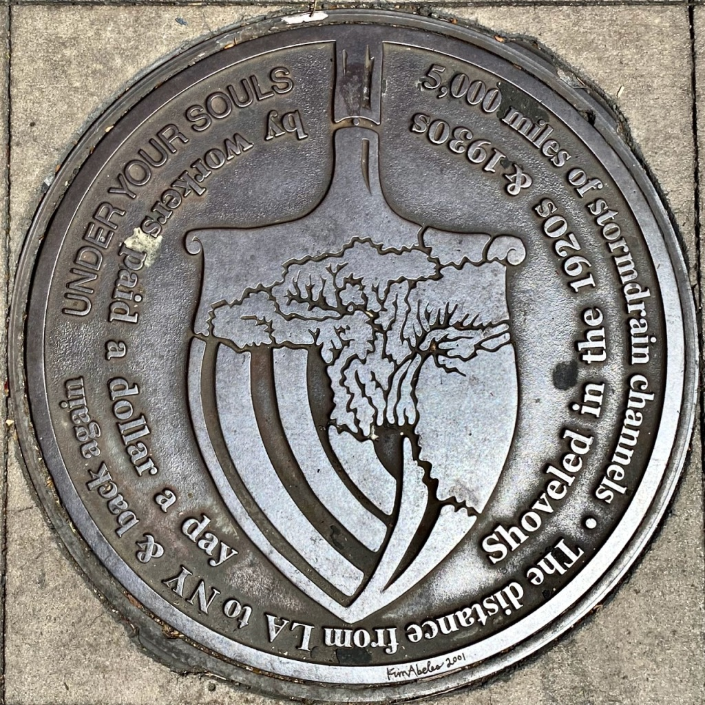 Street Photography: Notable Stormdrains - Manhole Cover