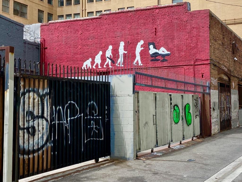 Street Photography: Evolution Graffiti