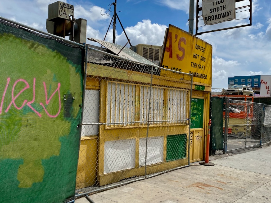 Street Photography: Further Demise of Thelma's Hamburger Stand