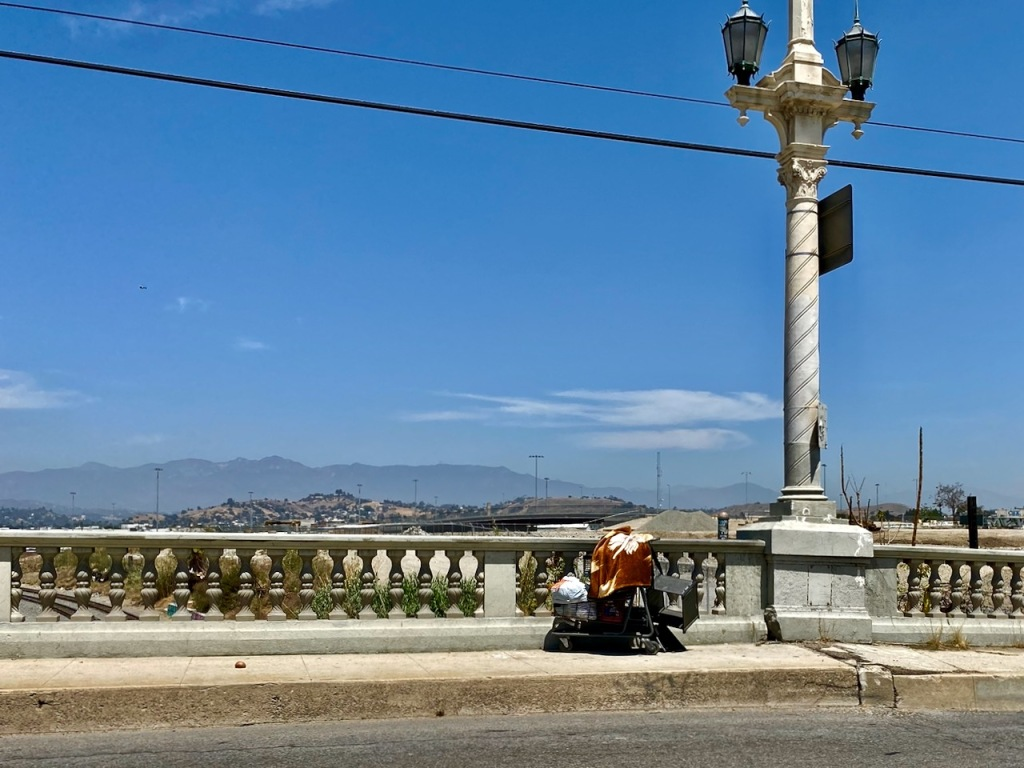Street Photography: LA River Vista
