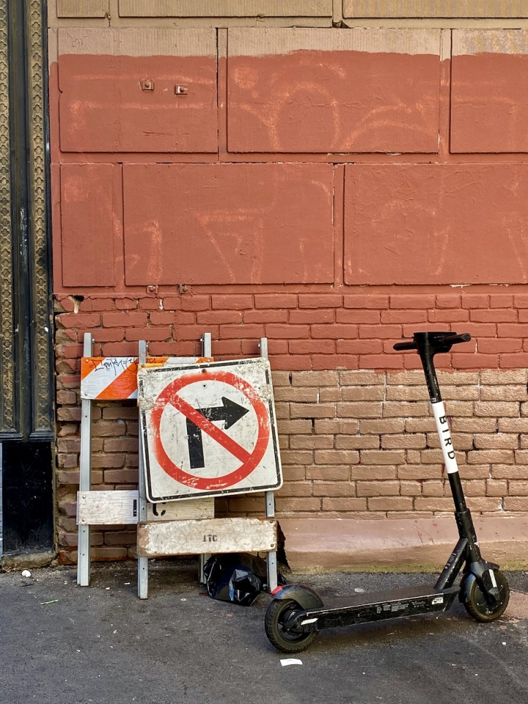 Street Photography: No Right Turn