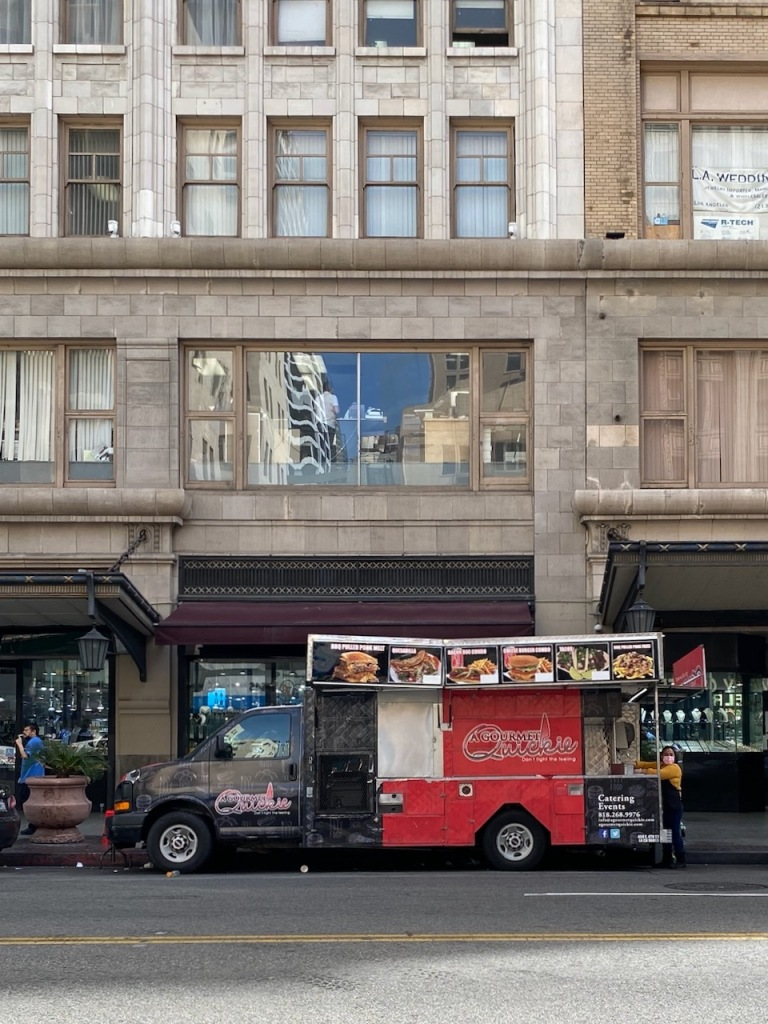 Street Photography: Food Truck in the City