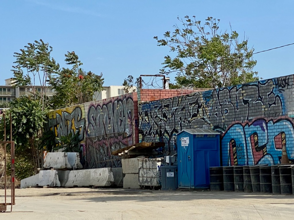 Street Photography: Graffiti by the Outhouse