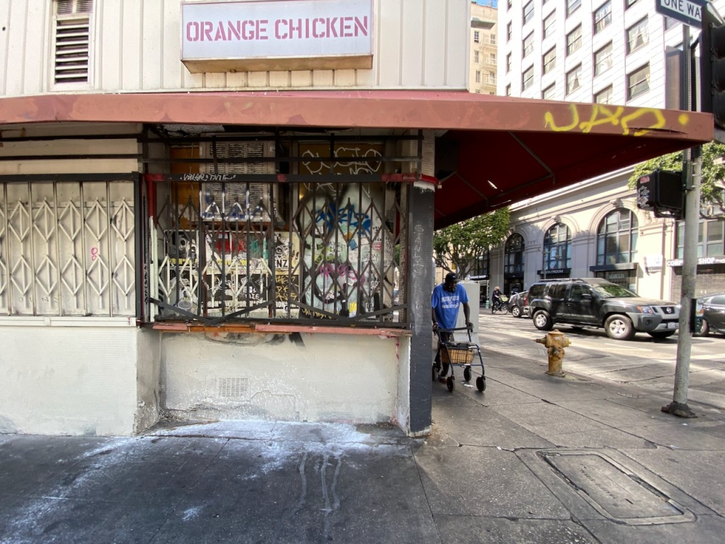 Street Photography: The Ghost of Orange Chicken