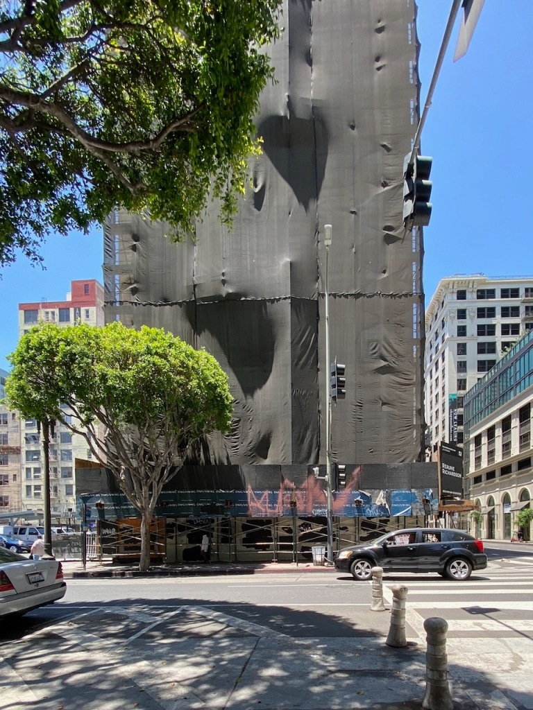 Street Photography: Wrapped Building