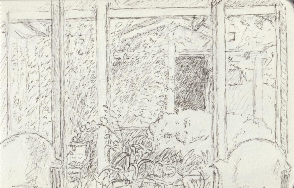 Vintage Sketchbook Series: Waiting Room (2009-2012)