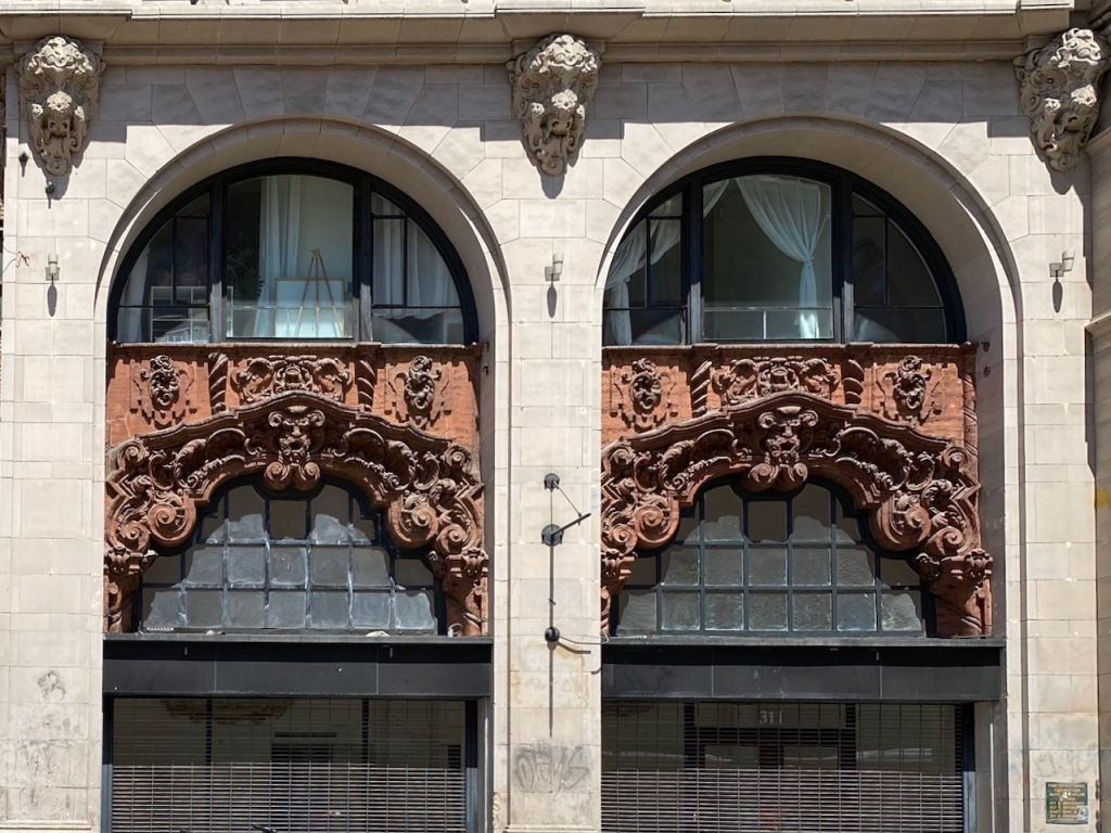 Street Photography: Arched Windows with Ornate Designs