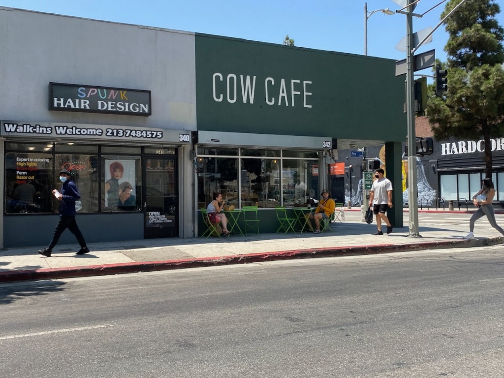 Street Photography: City Milk Bar