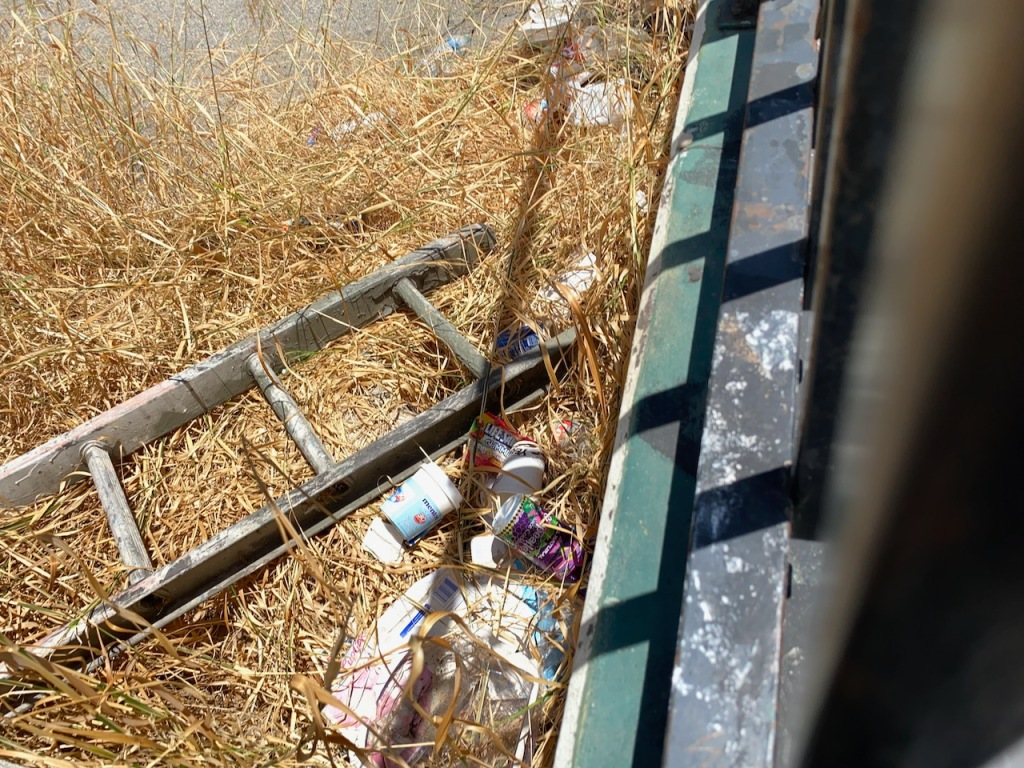 Street Photography: Detritus and Ladder Rungs