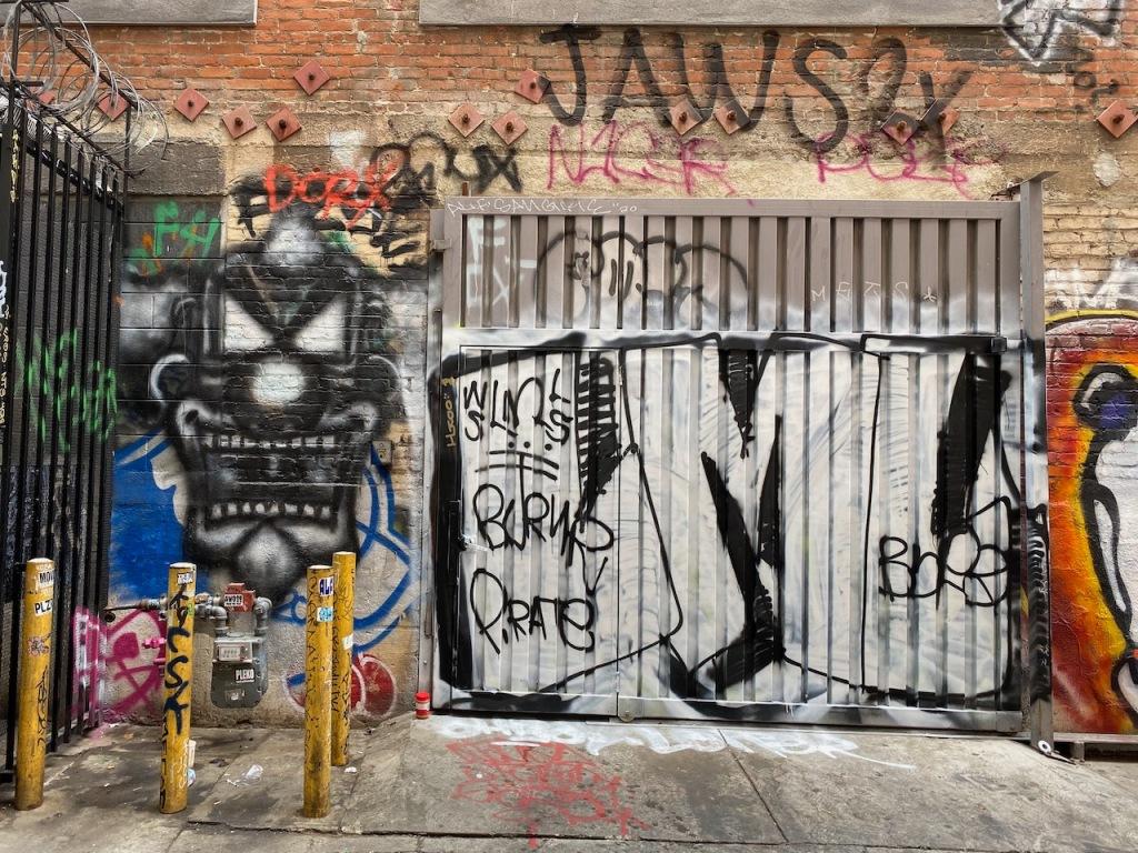 Street Photography: Jaws Graffiti
