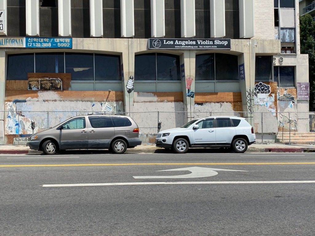 Street Photography: LA Violin Shop
