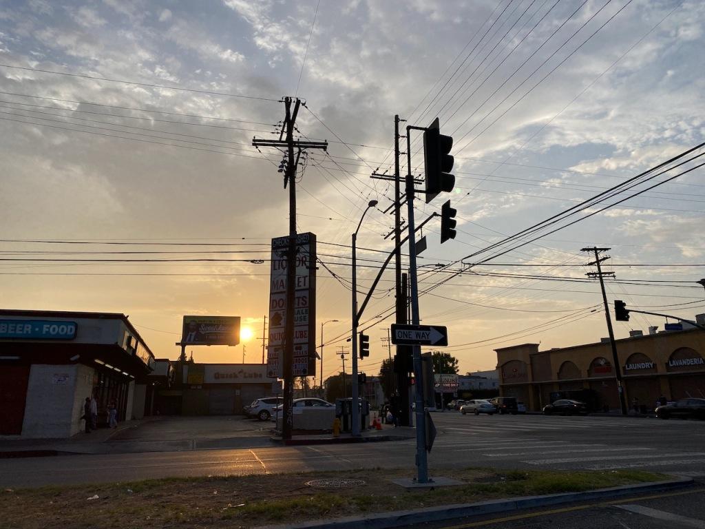 Street Photography: Suburban Sunset