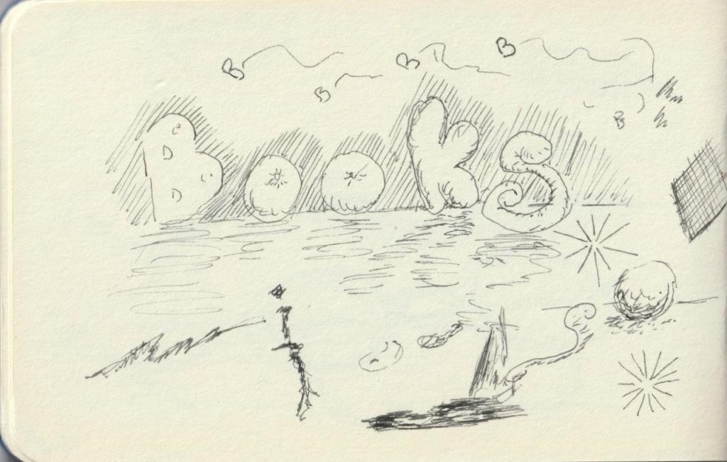 Vintage Sketch Book Series: Book Doodles (December 2010)