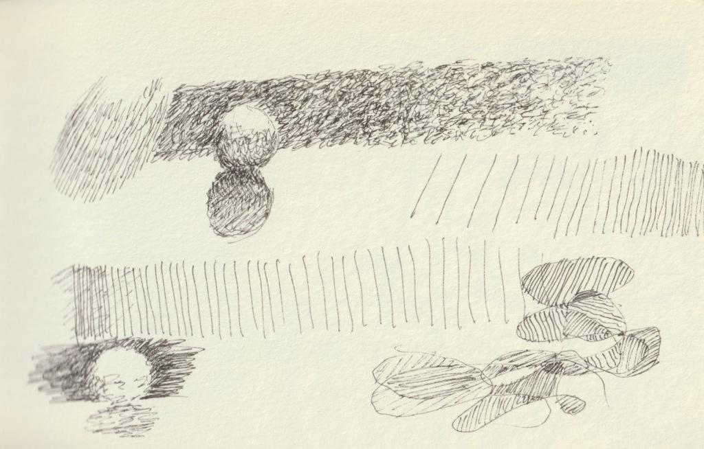 Vintage Sketch Book Series: Shading Practice (September 2010)