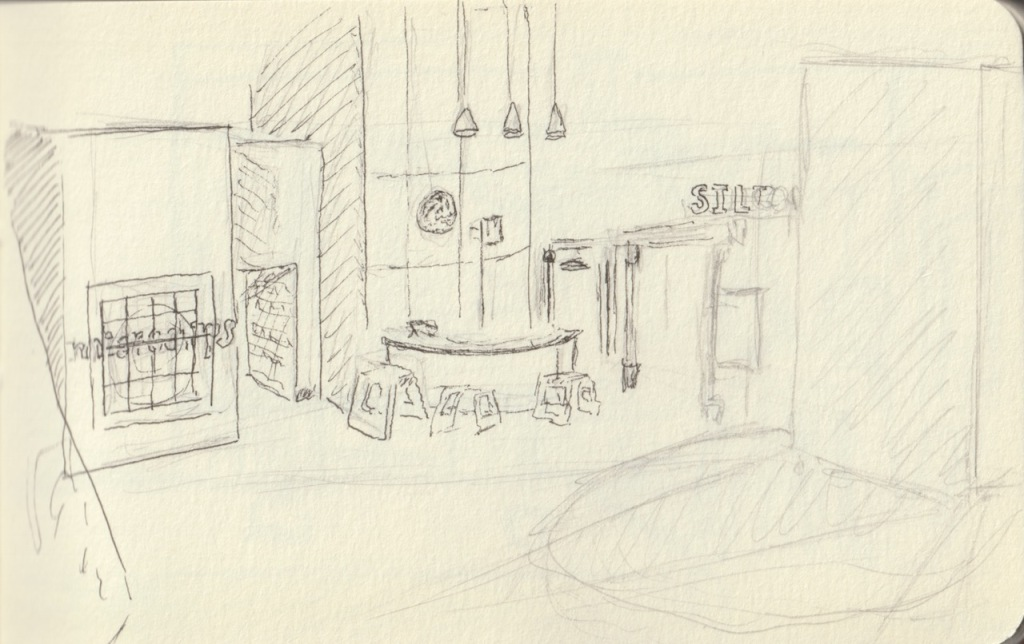 Vintage Sketch Book Series: Tech Museum (November 2010)