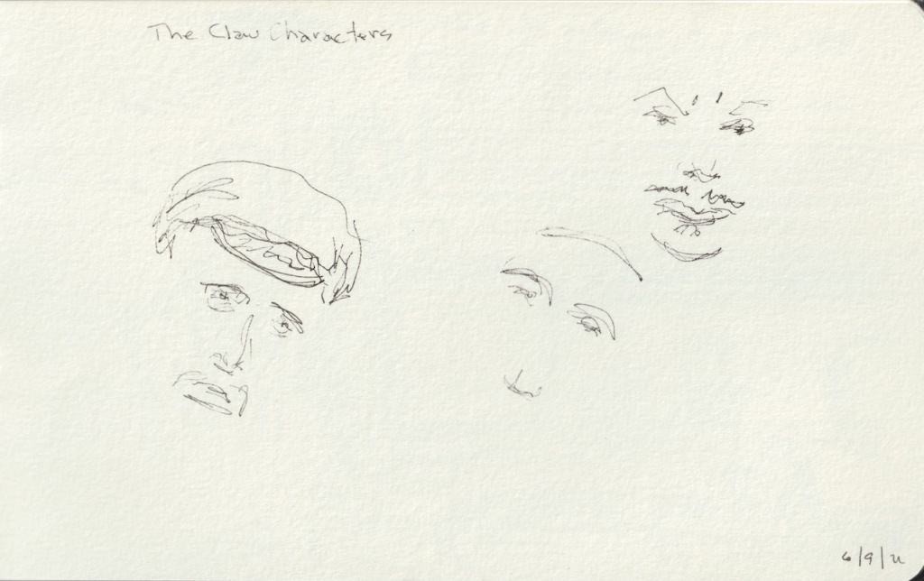 Vintage Sketch Book Series: The Claw Characters (June 2011)