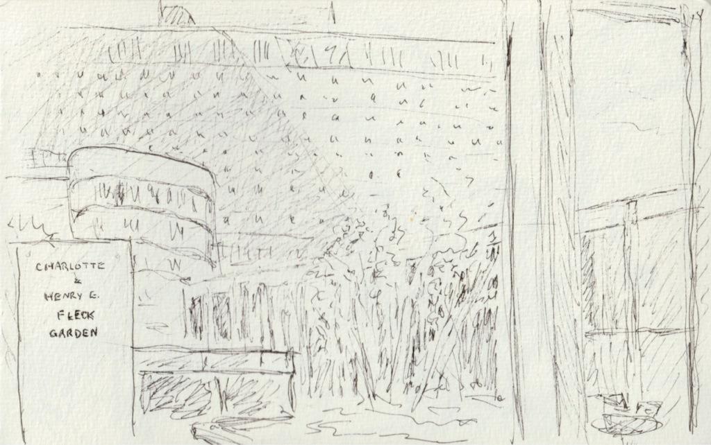 Vintage Sketch Book Series: Atrium (April 2011)