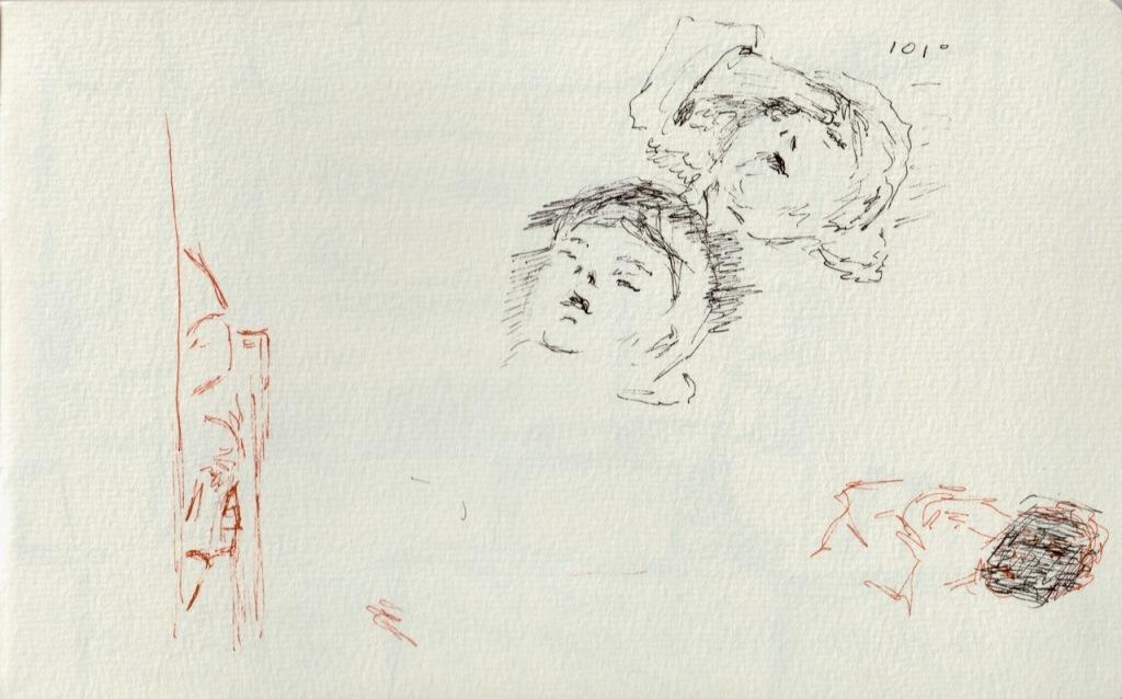 Vintage Sketch Book Series: Fever (May 2011)