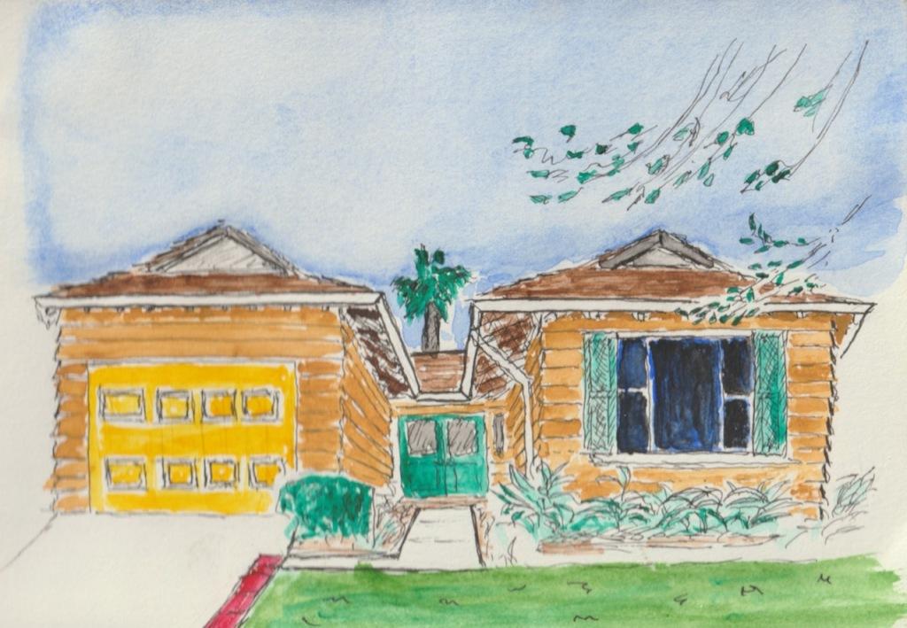 Vintage Sketch Book Series: Homestead (August 2008)