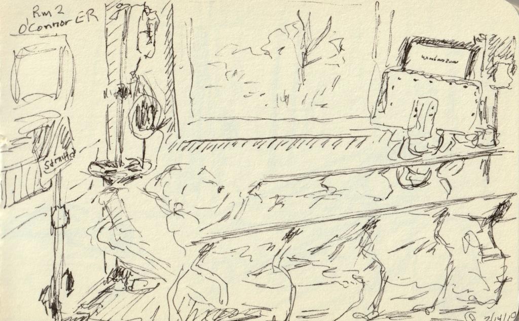 Vintage Sketch Book Series: Hospital ER (February 2010)