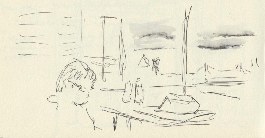 Vintage Sketch Book Series: In Hospital (April 2011)